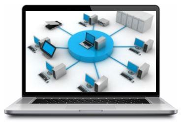 Работа в распределённой сети